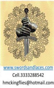 Il logo è proprietà di www.Swordsandlaces.com